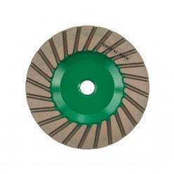 Фреза алмазная торцевая DIAM Turbo Премиум 100x5x20x М14 №0 (шлифовка) гранит 000191